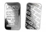 1 oz. Johnson Matthey .999 Fine Silver Bar Sealed
