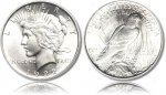 Brilliant Uncirculated Peace Silver Dollar 1922-1926